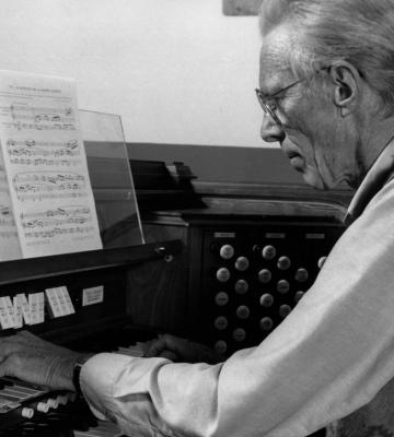 Weber At Organ